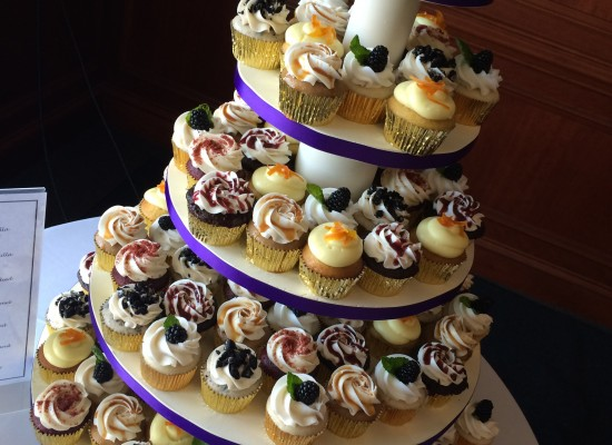 JMU Cupcake Tower